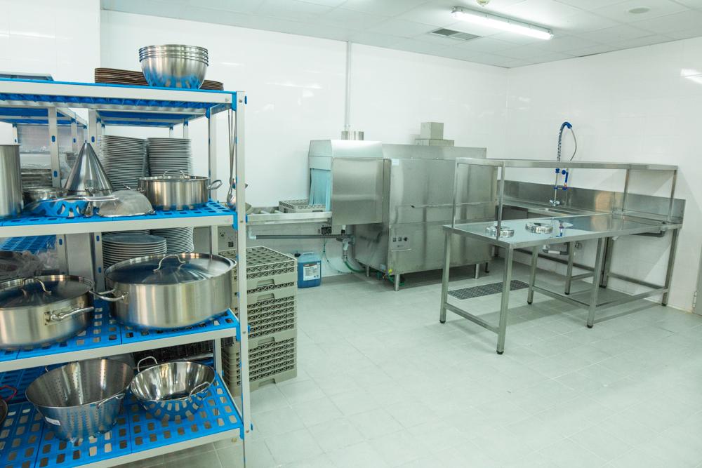 Instalación cocinas hoteleras