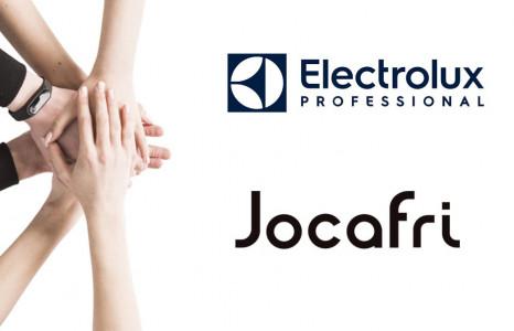 Jocafri y Electrolux unidos por un mismo motivo: Ergonomía en la cocina profesional
